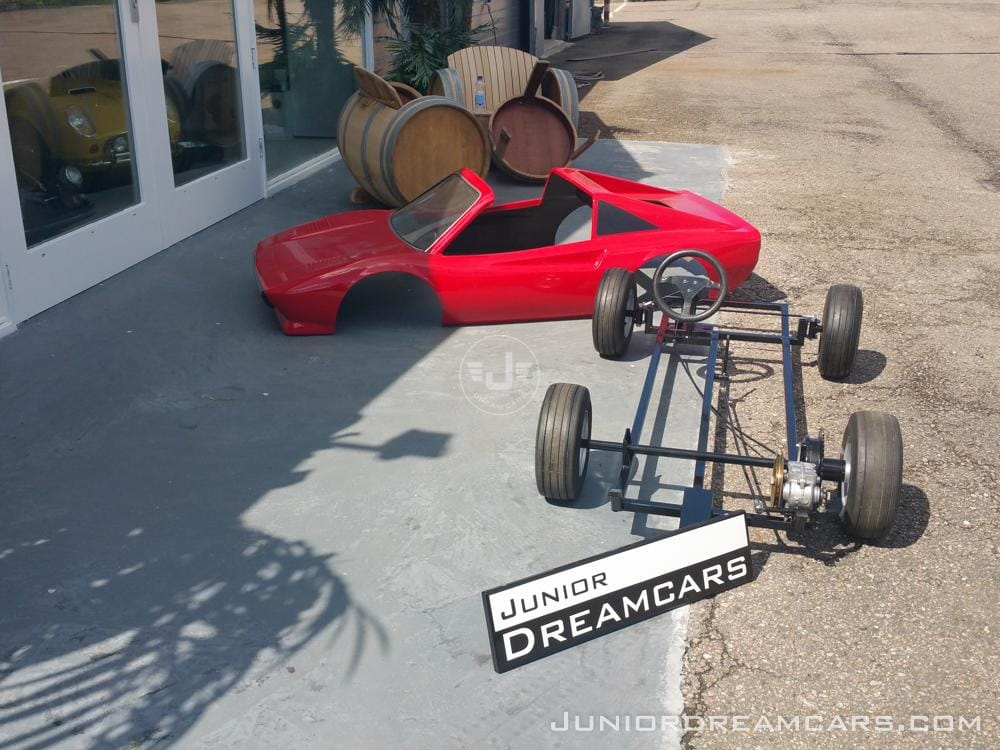 ferrari 308gts agostini restoration junior dream cars. Black Bedroom Furniture Sets. Home Design Ideas